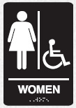 braille womens accessible