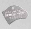 dog cat license tag 1