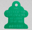 dog cat license tag 8