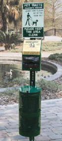 dog pet station
