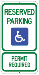 reserved parking permit required