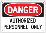 authorized personnel sign 3