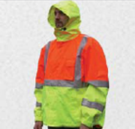 class III safety windbreaker