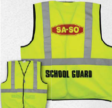 custom print safety vests