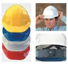 sentry III safety hard hat