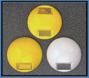 channel pavement markers
