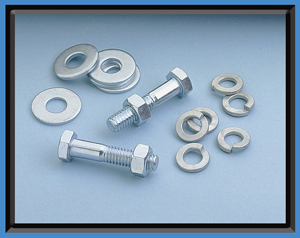 sign hardware nuts bolts