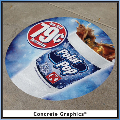 Circle K Polar Pod Concrete Graphic promotion