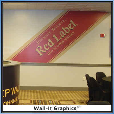 Johnny Walker Red Label Wall-It Graphic
