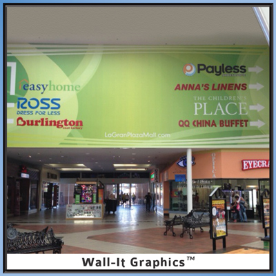 La Grande Plaza Mall Wall-It Graphic