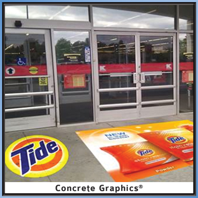 Tide Concrete Graphics Promotion