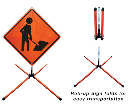 Sa So Traffic Safety And Facility Products Roll Up Signs